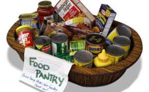 Spring needs for Food Pantry: Give canned veggies & fruits