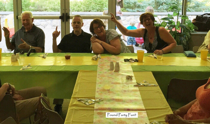 pound party fun