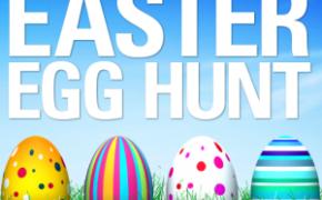 Easter Egg Hunt -  Sunday, April 21st at 10:00am