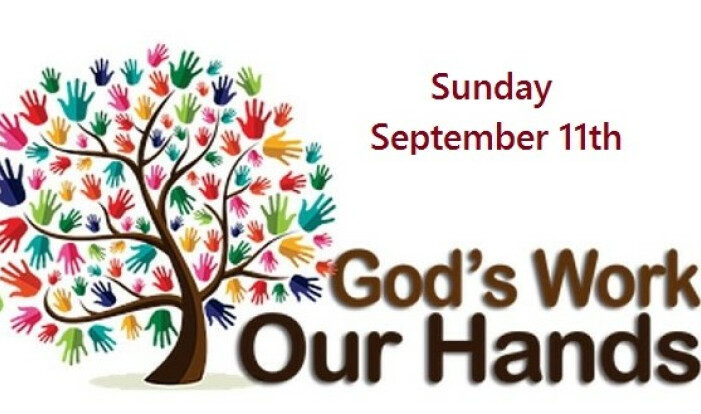 Gods Work Our Hands Sunday