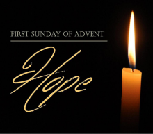 First Sunday of Advent Dec 1